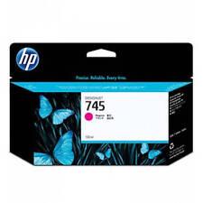 ORIGINAL HP 745 MAGENTA CARTUCHO TINTA PARA z2600 & Z5600 impresoras (f9j95a)