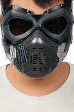 Xcoser Captain Ameri Civil War Winter Soldier Bucky Cosplay Mask Half Face Props