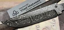 Mosaik Damastmesser Klinge RITTER SAN MAI Jagd damascus knife blade lame damas