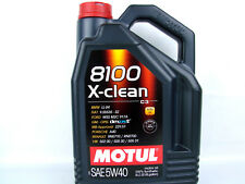 5liter Motul 8100 X-clean 5w40 ACEITE DE MOTOR 5w-40 SAE DIESEL GASOLINA