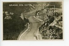 Grand Spa Hotel RPPC Clifton Bristol England Photo Bridge 1923