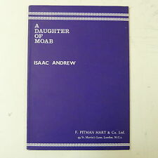 VOCAL SCORE Isaac Andrew una figlia di Moab