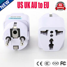 Travel Universal Adapter Electrical Plug For UK US EU AU to EU Converter Socket
