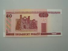 Banknote - Weißrussland, 50 Rubel, 2000, bankfrisch
