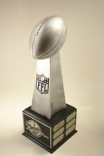 "FANTASY FOOTBALL TROPHY 19"" 12 YEAR LOMBARDI-  FREE ENGRAVING!  SHIPS IN 1 DAY!"
