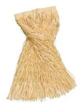 LONG STRAW GRASS SKIRT, 8Ocm, HAWAIIAN, HULA FANCY DRESS ACCESSORY