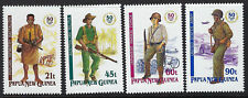 PAPUA NEW GUINEA :1992 50th Anniversary of WWII Campaign set  SG671-4 MNH
