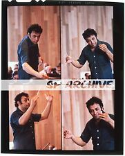 "1970s Original 4x5 Transparency ""INDIAN CONDUCTOR"" ZUBIN MEHTA composite"