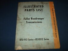 FULLER EATON RTO-913 RT-9513 TRANSMISSION REPAIR PARTS BOOK MANUAL