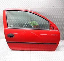 Opel Corsa C Tür Rechts Rot Z547 Fensterheber Elektrisch Bj 2003