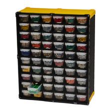 Small Parts Storage Organizer Drawer Tool Box Screws Holder Bin 60 Compartment
