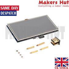 """5 pouces tactile 800×480 écran lcd écran 5"""" pour Raspberry Pi Pi2 modèle B + a +"""
