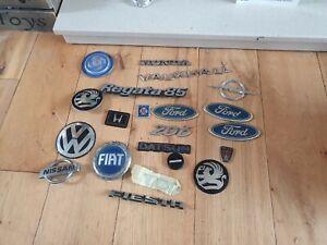 Old Car Badges Lot 3