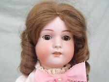 "Antique German Bisque Simon & Halbig Girl Doll 23 1/2"""