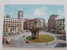 Cartolina colori SAVONA – Piazza Aurelio Saffi auto Viaggiata (1972)