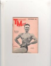 Gay Art Tomorrow's Man Muscle Bodybuilding Magazine Jack Knish 11-54 Issue #11