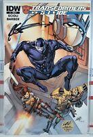 💥 SIGNED! ROB LIEFELD TRANSFORMERS VS GI JOE #1 VARIANT CVR RI 2014 IDW Marvel