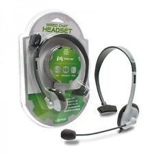 Tomee XBOX360 BASIC Wired Chat Headset Headphone Microphone M05345WH