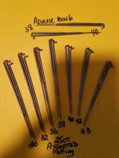 25 Ass't FELTING NEEDLES-3 EACH 30-32-36-38-40-42-43GA+  Reverse/Invert Barb