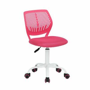 Office Task Desk Chair Adjustable Mid Back Home Children Study Chair