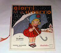 Giorni d'inverno Di Renato Simoni [i.e. Turno] - Mondadori, 1923