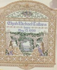 """Teresa Wentzler Counted Cross Stitch Kit  ❤️  """"Birth Announcement""""   New- sealed"""