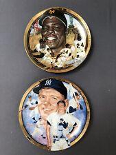 12 Hamilton Collection Ltd Edition Baseball Collector Plates, non-smoking home