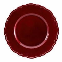 Brunchfield Charger Plates Decorative Dinner Placemat Gold Silver Red Black Sets