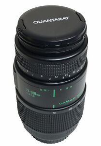 QUANTARAY Tech-10 CN AF High Speed 70-300mm - 1:4 - 5.6 Lens for Canon NICE!!