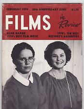 FEB 1979 FILMS IN REVIEW vintage movie magazine - LIV ULLMAN