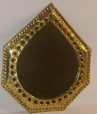Marocchino realizzati a mano BATTUTI IN OTTONE Specchio Design Medio (4)