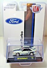 M2 Machines Hs07 Hobby Exclusive 1987 Ford Mustang Gt Twin Turbo Limited Edition