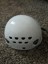 PETZL ECRIN ROC WHITE Climbing Helmet 53-63 CM Caving Climbing USED