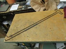 1967-1968 67 68 Chevy Impala 2 Door Hardtop Fast Back SS rear trunk rods GM