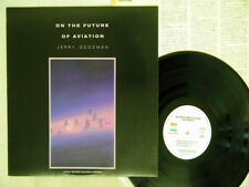 JERRY GOODMAN ON THE FUTURE OF AVIATION PRIVATE MUSIC PMP-28002 Japan PROMO LP