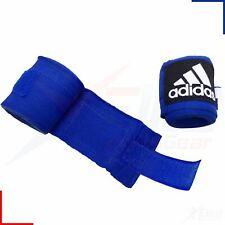 Adidas Boxing Hand Wraps 225cm MMA Bandages Black, White, Red or Blue ABA
