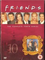 FRIENDS, THE COMPLETE 10th SERIES, 3 DVDs, 18 EPISODES, ENGLISH+DUTCH SUBTITLES
