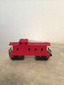 Unmarked O Scale Red Caboose