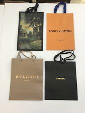 FOUR  (4) Beautiful Designer Store Paper Shopping / Gift Bags