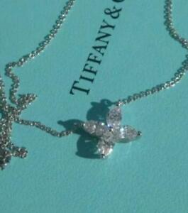 Tiffany&Co Victoria Platinum Large Marquise Diamond Pendant