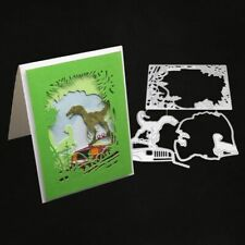 Pterosaurs Dinosaur Metal Cutting Dies Stencil Scrapbooking Photo Album Card Pap