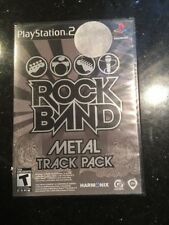 PlayStation2 : Rock Band Track Pack: Metal Ps2 Sony Brand New Factory Sealed