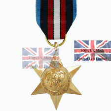 WW2 British ARCTIC STAR Medal - 100% British Made Full Size -Arctic Convoy Award
