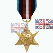 Official Arctic Star Full Size Medal and Ribbon (first to Get Them Ww2 Medal