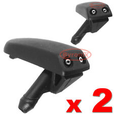 2 X VW POLO GOLF mk3 FRONT WINDSCREEN WASHER JETS NOZZLE WATER SPRAYER