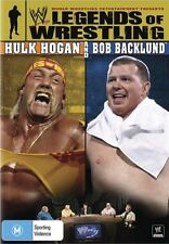 WWE - Legends Of Wrestling : Hulk Hogan & Bob Backlund(DVD, 2009) NEVER WATCHED