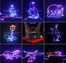 DMX Full Color 3D Animation RGB 500mW Effect Laser Beam DJ Christmas Stage Light