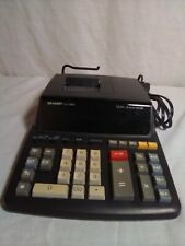 Sharp Printer Calculator, 12 Digits, 2 Colors (Works Great)  EL-2196BL