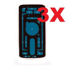 3X Motorola Droid Turbo 2 XT1580 XT1585 Back Cover Battery Door Tape Adhesive