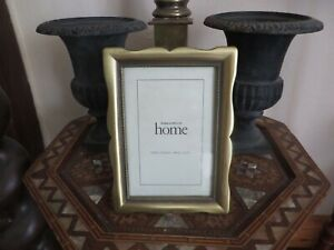 Art Deco style photograph frame  M & S Home curved metal frame dot detail